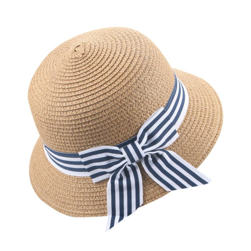 AutumnFall Baby Hat,Summer Kids Children Breathable Straw Caps Beach Sun Hats