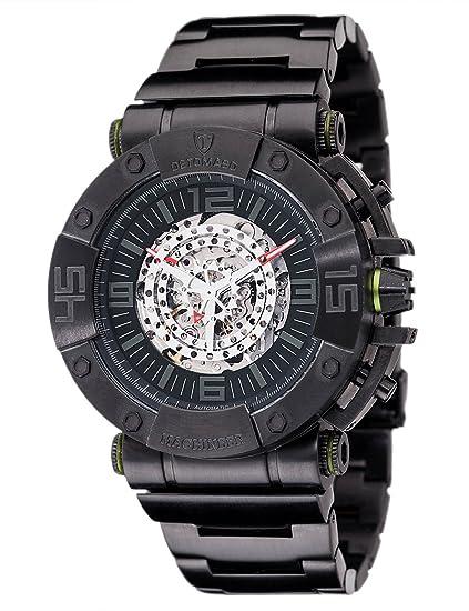 DETOMASO Machineer XXL - Reloj Automatic Mans Man Maker League para hombre, color negro