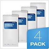 """TOPS Reporter's Notebooks, 4"""" x 8"""", Wide Rule, 70"""