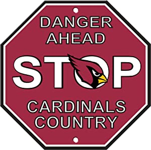 Fremont Die NFL Arizona Cardinals Stop Sign