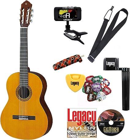 Yamaha cgs103aii 3/4 tamaño guitarra clásica Bundle w/legado Kit ...