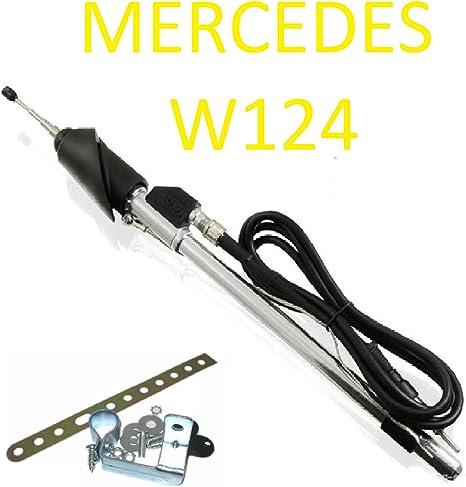 Mercedes W124 124 - Antena telescópica con conector DIN