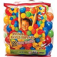 Oyun Havuzu Topu 6 Cm 100 lü - Bahçe ve Oyun Havuzu Topları - Torbada