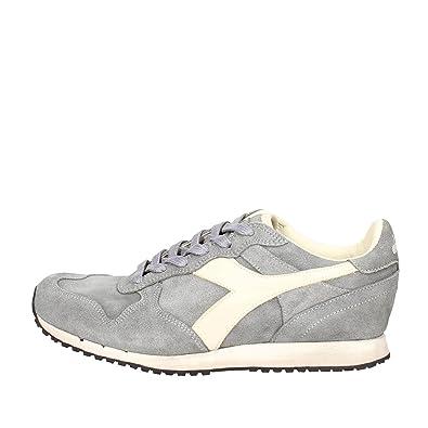 Diadora Heritage Herren Schuhe Sneakers Trident S SW Storm Gray Grigio Grau  Neu 12c3adf78a7