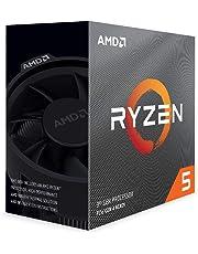 AMD Ryzen 5 3600 6-Core, 12-thread unlocked desktop processor with Wraith Stealth cooler.