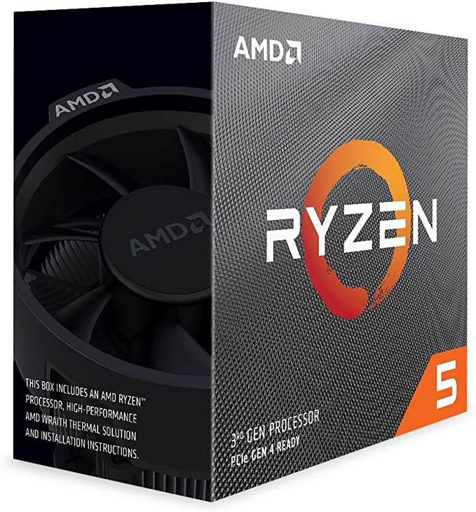Amazon.com: AMD Ryzen 5 3600 6-Core, 12-Thread Unlocked Desktop Processor with Wraith Stealth Cooler: Computers & Accessories