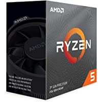 AMD Ryzen 5 3600 6-Core, 12-thread unlocked desktop processor with Wraith Stealth cooler.