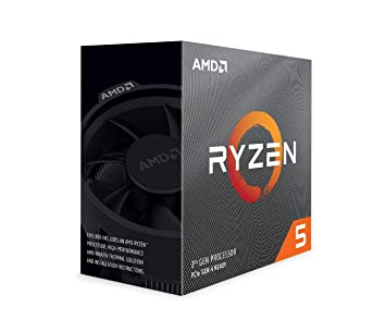 Image result for AMD Ryzen 5 3600 Upto 4.2 GHz 6 Core 12 Threads AM4 Socket 35MB Cache Desktop Processor with Wraith Stealth Thermal Solution (100000031BOX)