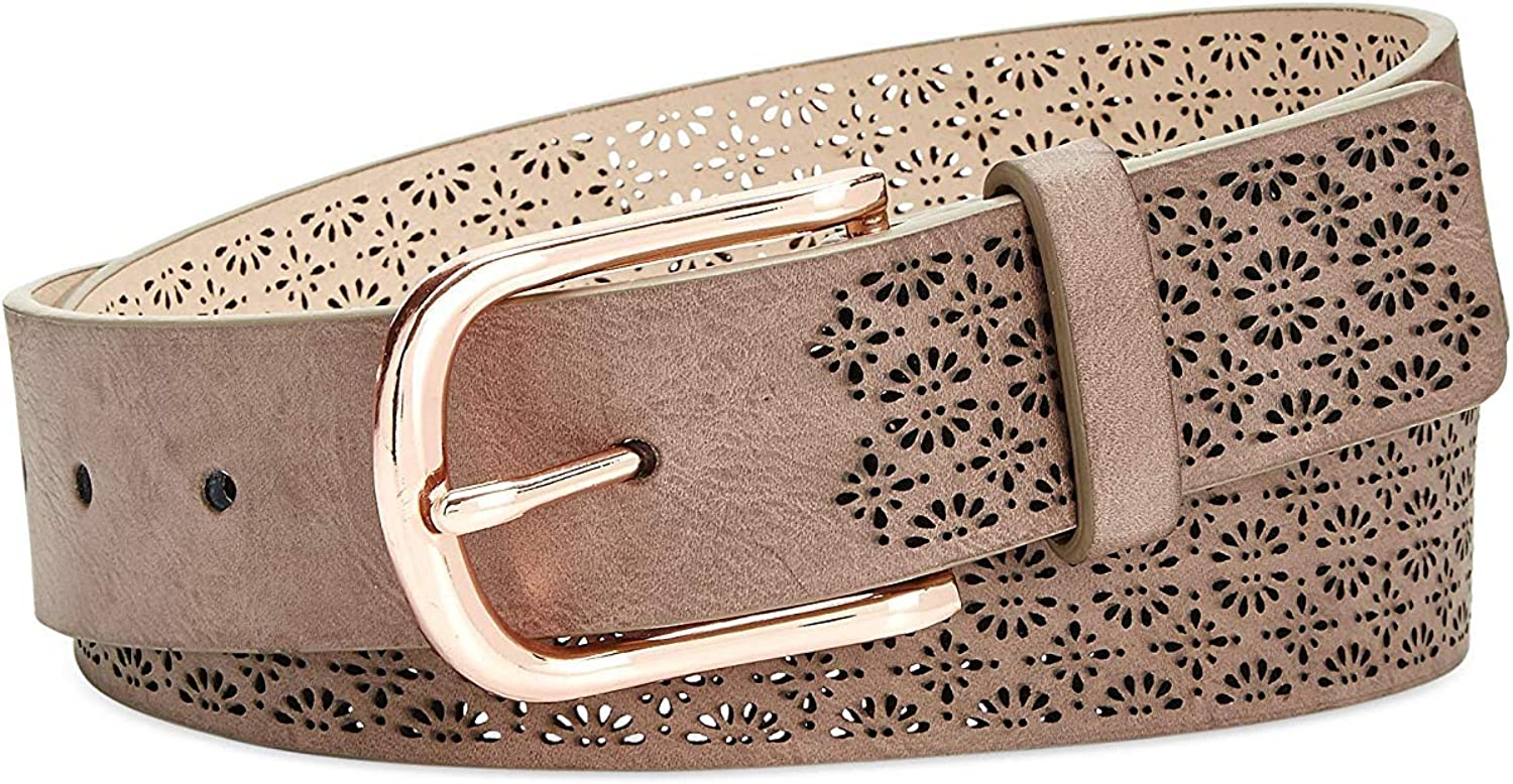 INC International Concepts Women's Perforated Belt