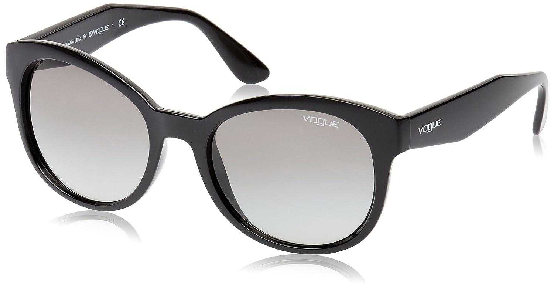 Vogue Grey Gradient Cat Eye Sunglasses