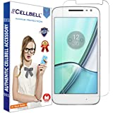 CELLBELL® Tempered Glass Screen Protector For Motorola Moto G4 Play With FREE Installation Kit