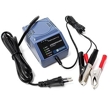 H-Tronic AL 600plus 2/6/12V Cargador Automático Baterías ...