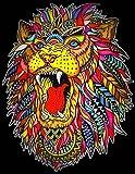 Colorvelvet L104 - Disegno Ruggito Leone, 47 x 35 cm