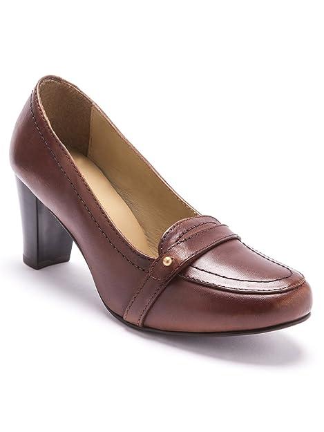 Balsamik - Mocasines para mujer, color Marrón, talla 40: Amazon.es: Zapatos y complementos