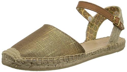 41698bc88cb Sperry Women s Hope Gold Sparkle Linen