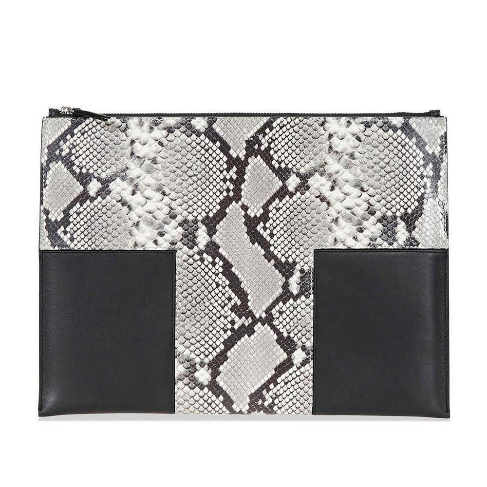 Amazon.com: Tory Burch block-t grande suave y Snake-print ...