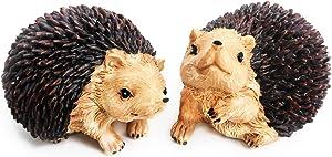 Posee Outdoor Ornament Garden Decor Sculptural Little Hedgehog Lawn Statues