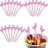 300 Pieces Plastic Picks Cocktail Picks Appetizer Picks Plastic Drink Picks for Tropical Party Decoration and Supplies…