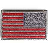 """American Flag (Right Arm) Reverse Morale Patch with Velcro by Backwoods Barnaby (2"""" x 3"""")"""