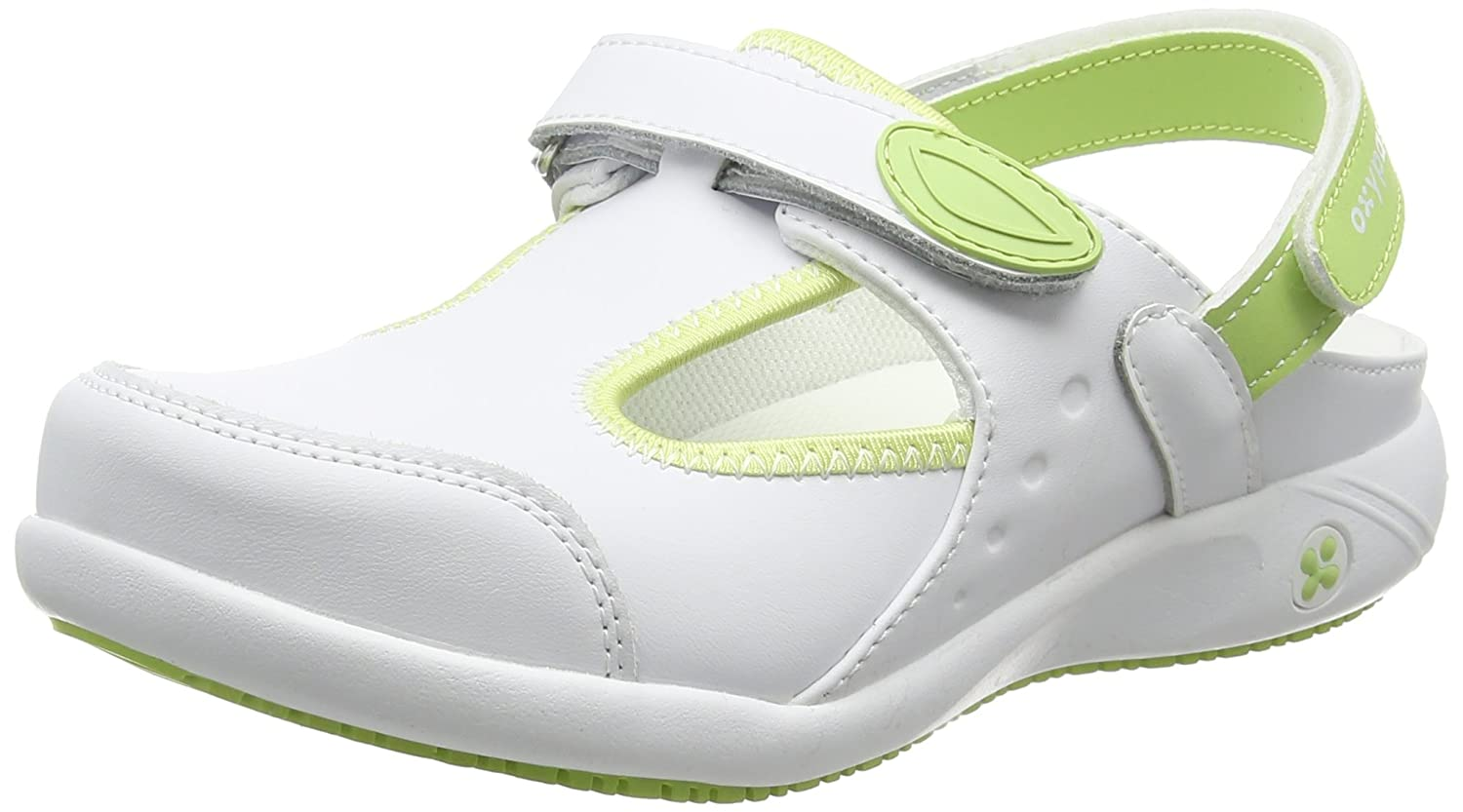 Oxypas Move Carin Slip-resistant, Antistatic Nursing Schuhes, Weiß (Lgn), 6.5 UK (EU: 40) -