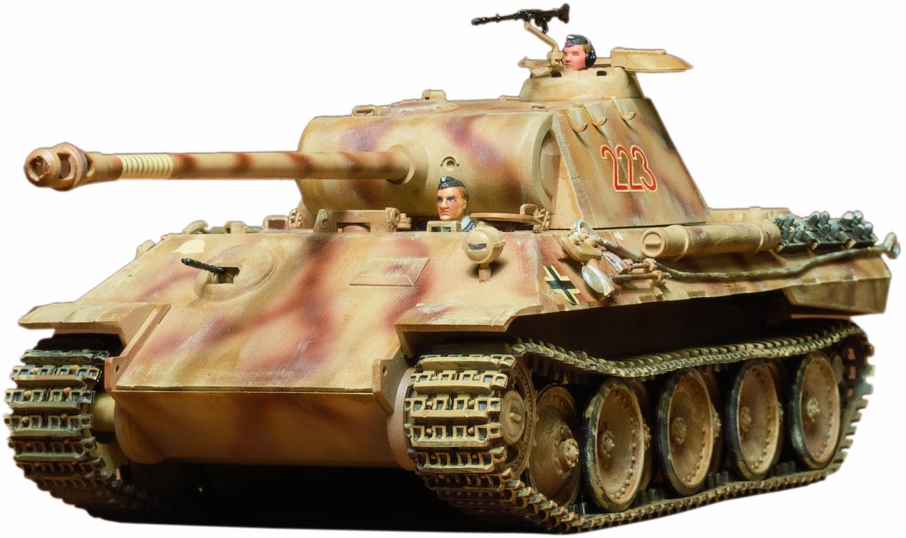 Tamiya Models German Pzkfw V Panther Ausf A Model Kit 2