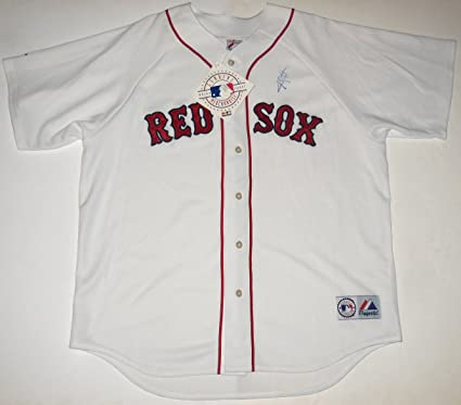 low priced d7d7a a75bf Jon Lester Autographed Jersey (Red Sox) at Amazon's Sports ...
