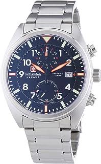Swiss Military AIRBORNE Chrono - Reloj, correa de acero inoxidable
