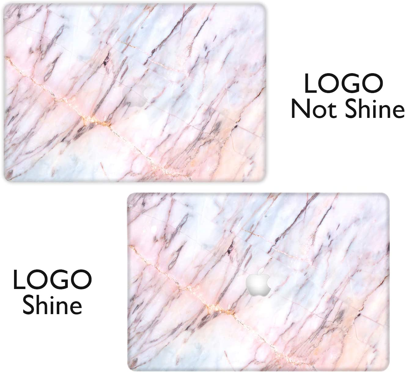iCasso Plastic Hard Shell Protector Case Cover Only Compatible MacBook Model A1369 /& A1466 Older Version Release 2010-2017 MacBook Air Case 13 inch Glitter Marble