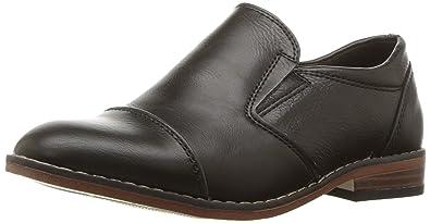 d12b958604b Steve Madden Boys  BSERGE Loafer Black 1 M US Little Kid