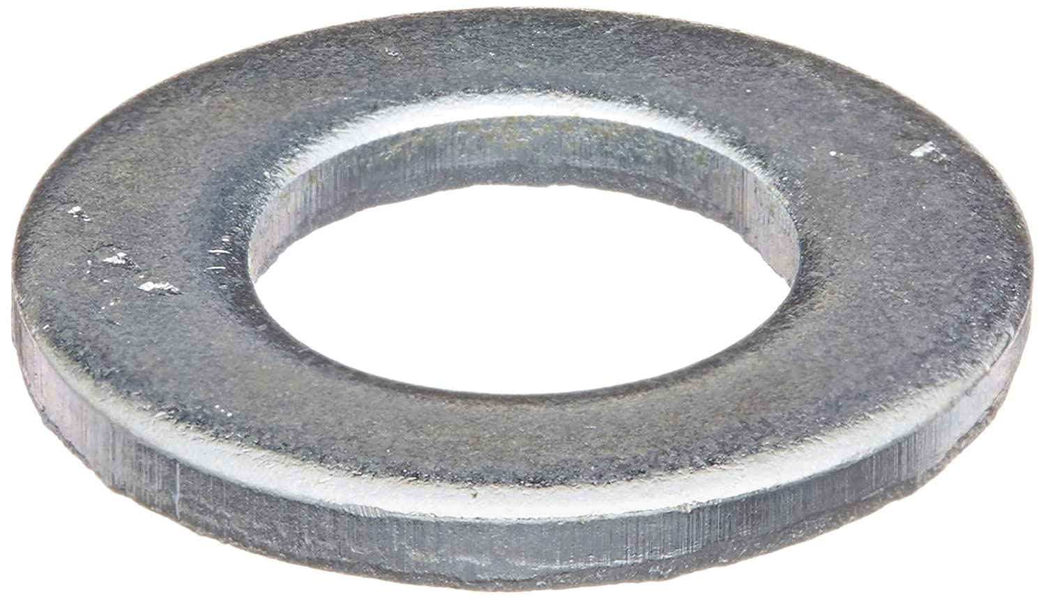 10.5 mm ID Steel Flat Washer 20 mm OD 2 mm Thick Pack of 100 Small Parts M10D125A Zinc Plated Finish Metric M10 Screw Size DIN 125