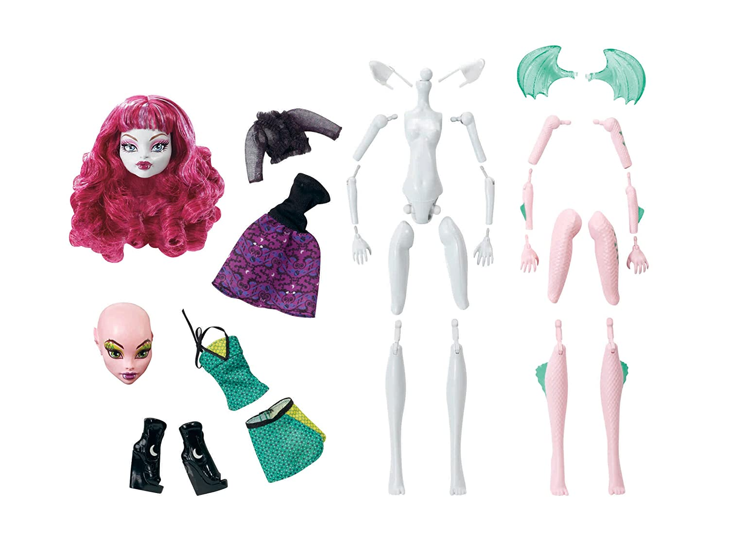 How to make a doll monster high