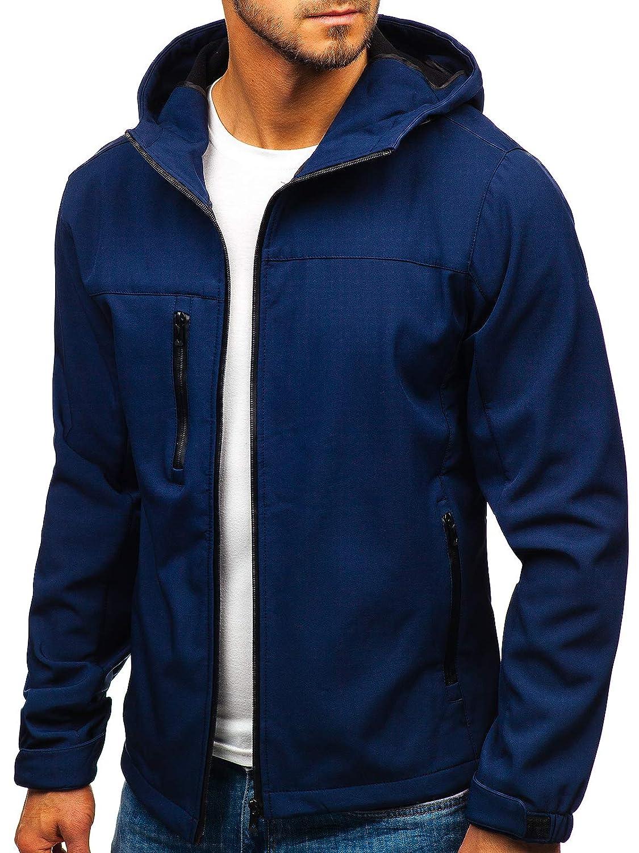 4D4 BOLF Men/'s Transitional Softshell Jacket Lightweight Hood Outdoor Sport Mix