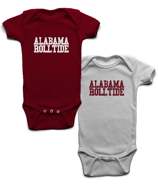 Amazon Alabama Roll Tide esie 2 Pack Clothing