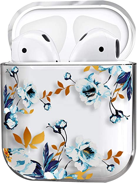 Amazon Com Airpods Case Cute Clear Smooth Tpu No Dust