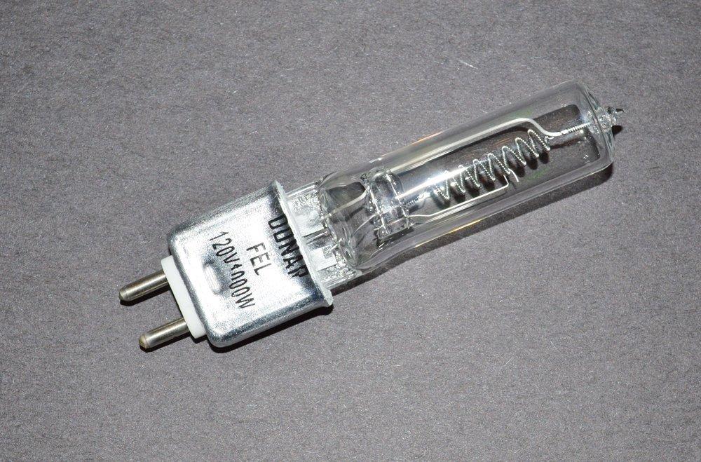 Galleon - 2pcs 120V 1000W FEL Donar RSE-76 Bulb For Berkey Colortran ...