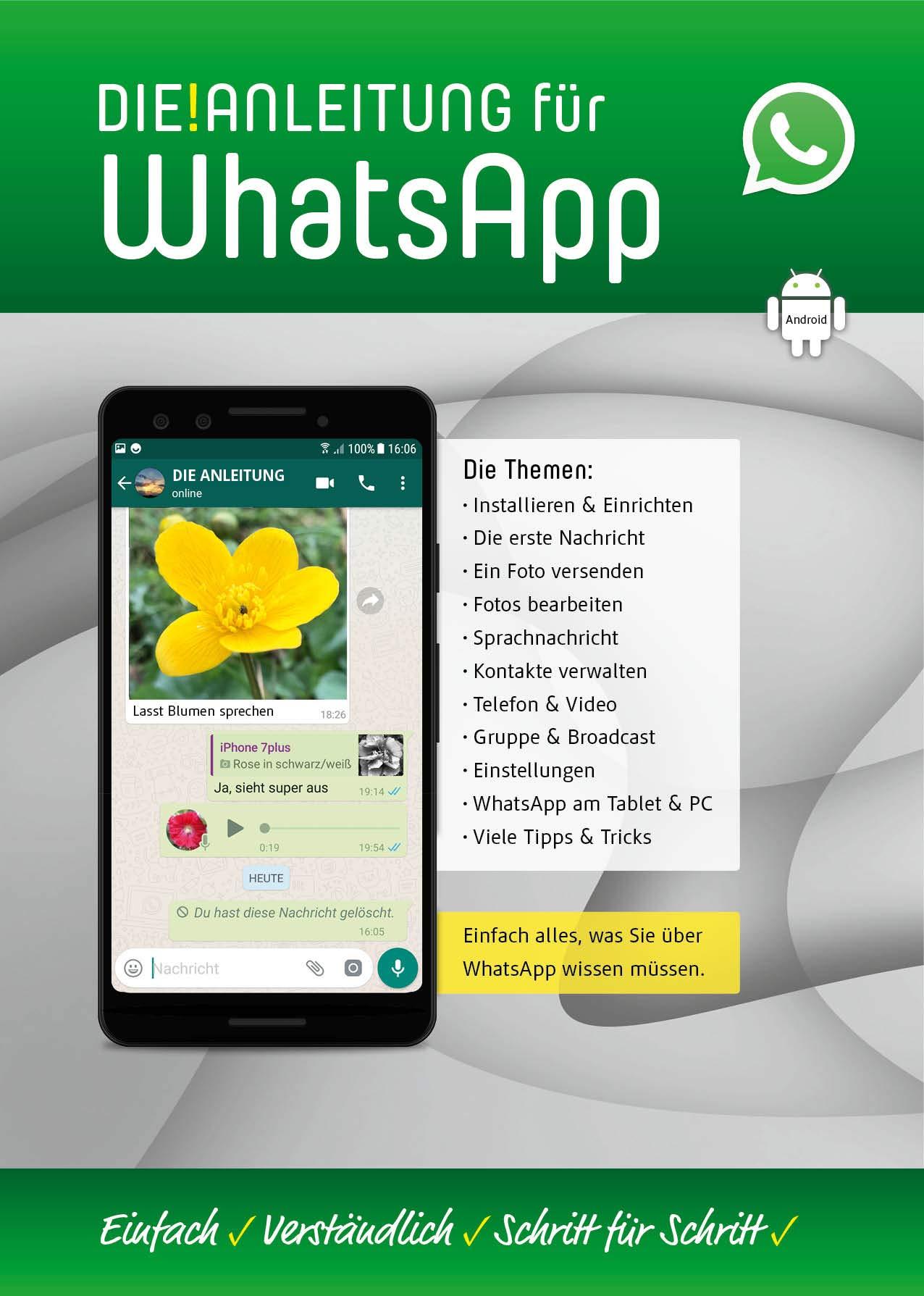 DIE ANLEITUNG für WhatsApp Android : Einfach, verständlich ...