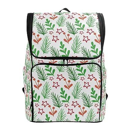 d565157132d4 Amazon.com: Backpack for Women Men Teen Girl Boy Christmas White ...