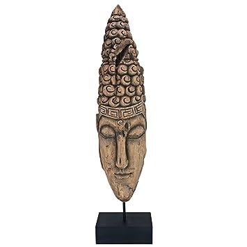 Design Toscano Statue Thai Sukhothai Buddha Face Fragment Amazon In Home Kitchen