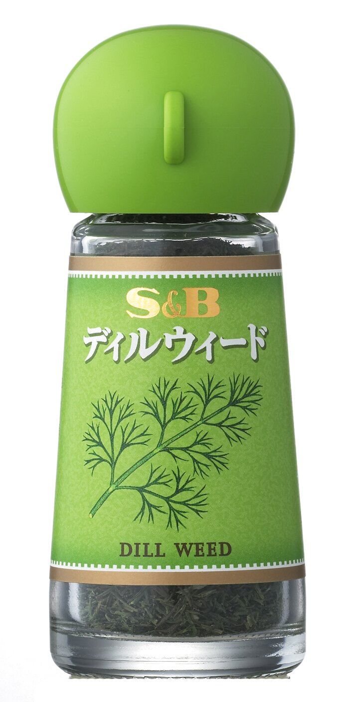 S & B Dill Weed 4gX5 pieces by S & B Series
