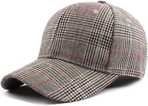 Dosige Sombrero de Cuadros para Mujer,Aire Libre Gorro, Sombrero ...