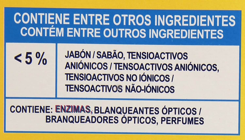 Rube - Detergente automáticas al jabón natural - 3.375 kg ...
