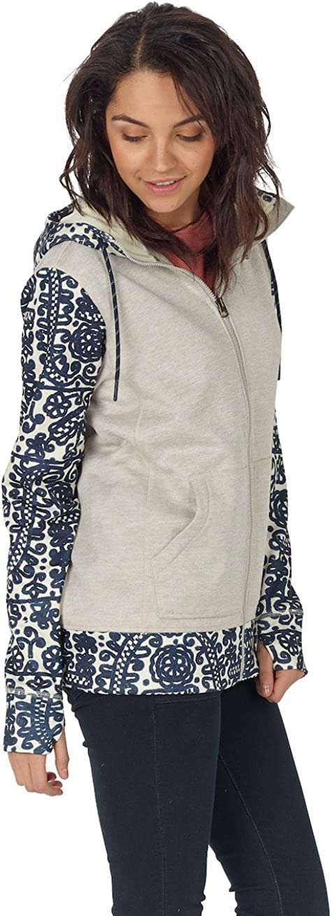 Burton Damen Quartz Full Zip Hoodie, Dove Heather, L: Amazon