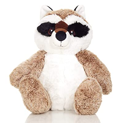 Squirrel Products Cuddle Mates Stuffed Animal Plush Toy - 14 Inch - Raccoon: Toys & Games