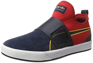 Puma RBR Wssp Booty, Sneakers Basses Homme, Bleu (Total Eclipse-Chinese Red White 01), 42 EU