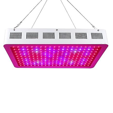 Roleadro Lampada Coltivazione 600W, LED Grow Light Con IR UV Luce Per Piante  Indoor Illuminazione
