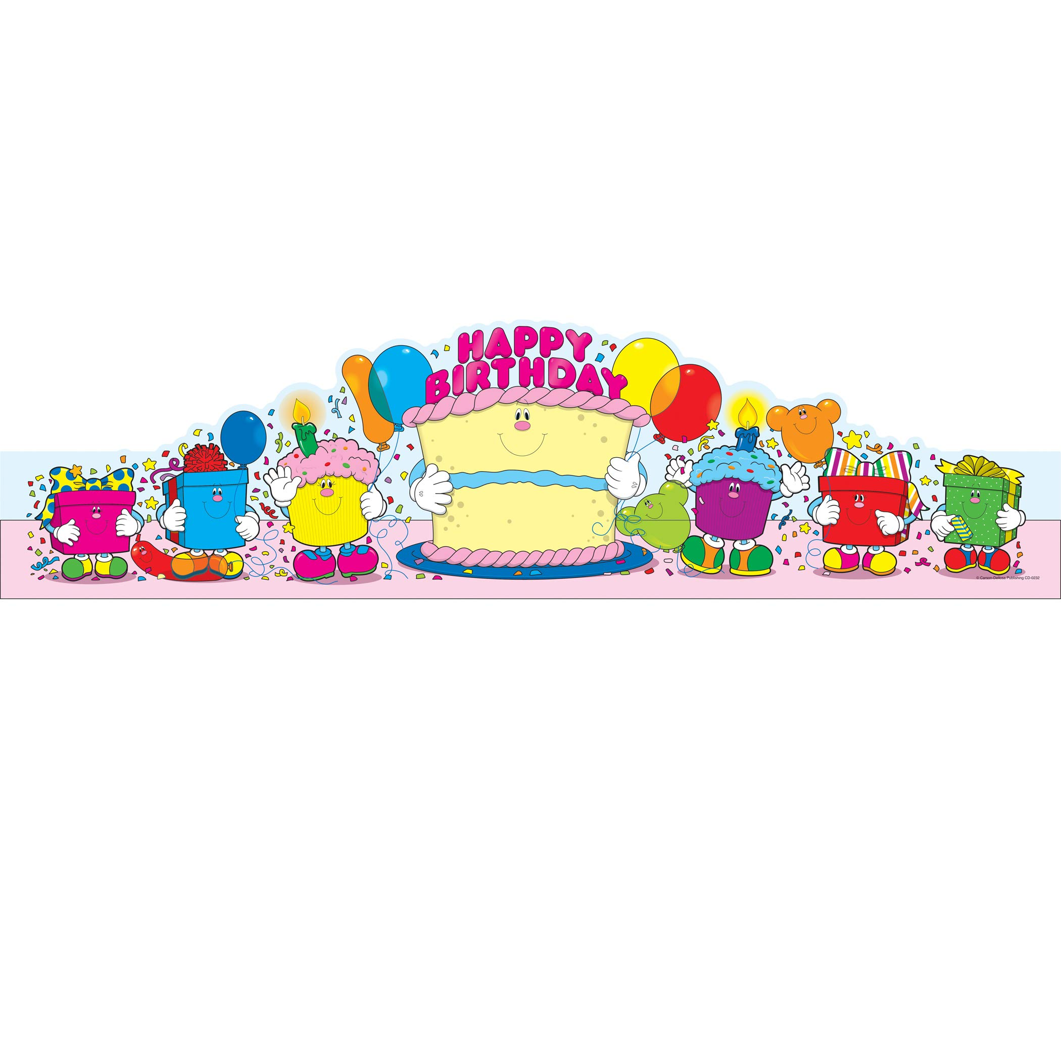 Carson-Dellosa CD-0232 Happy Birthday Crowns, Pack of 30