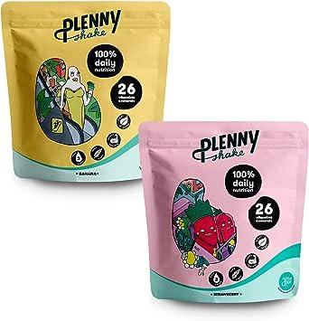 Jimmy Joy Fresa & Plátano Plenny Shake, 6 Bolsas x 4.000 kcal ...