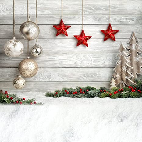 Christmas Ornaments Background.Huayi Christmas Decorations For Home Photography Backdrops Christmas Background Photo Background Newborn Christmas Backdrop 8x8ft Xt 4338