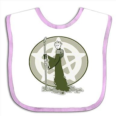 Amazon.com: Babero de fantasía para bebé, con un bonito paño ...