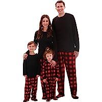 #followme Matching Buffalo Plaid Pajamas for Family and Couples